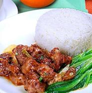 咸魚雞粒蓋飯