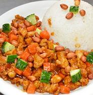 台湾卤肉盖饭