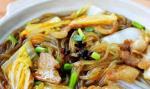 经典农家菜:白菜炖粉条怎么做好吃