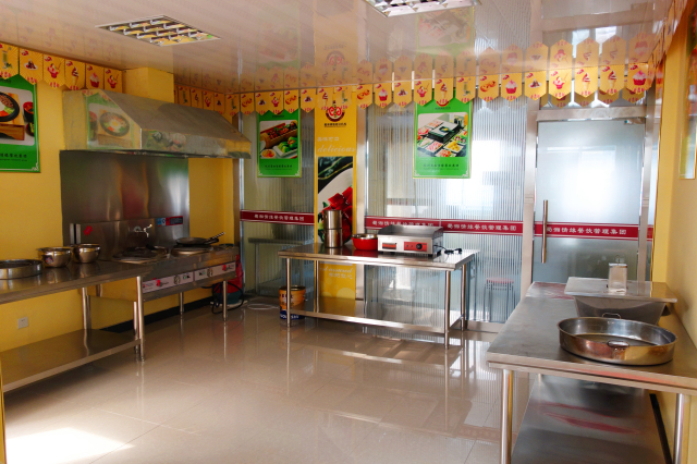 小吃培训室